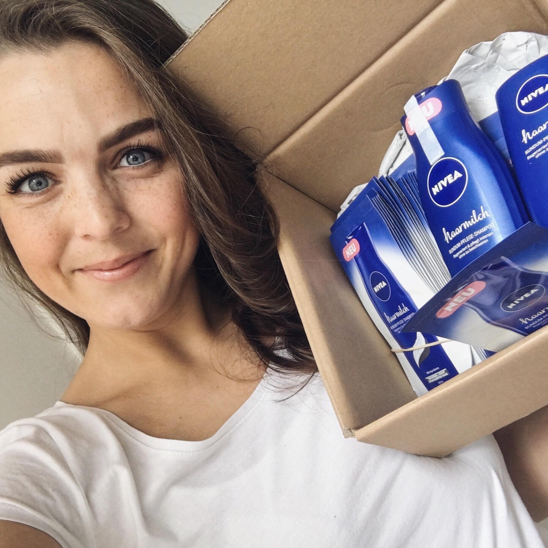 Die neue Nivea Haarmilch Rundum-Pflege
