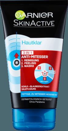 Garnier Hautklar 3in1 Anti-Mitesser