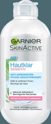 Garnier Hautklar Sensitiv Gesichtswasser
